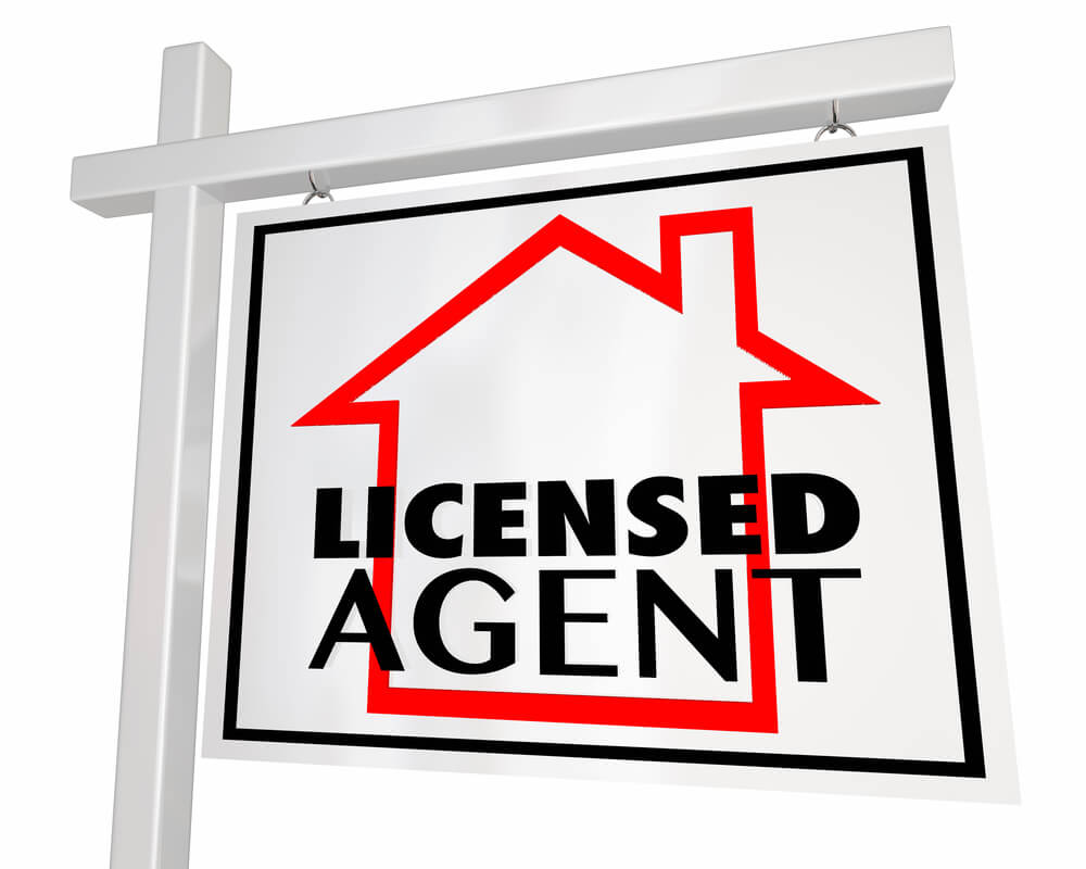 licensed agent signpost
