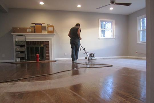 Should You Refinish Hardwood Floors Yourself