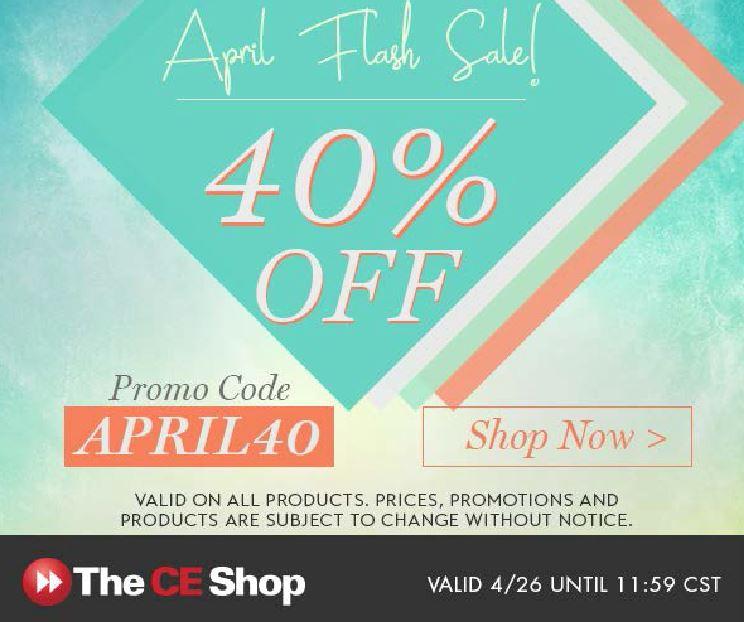 CE Shop April Flash