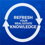 Real estate refresher course logo