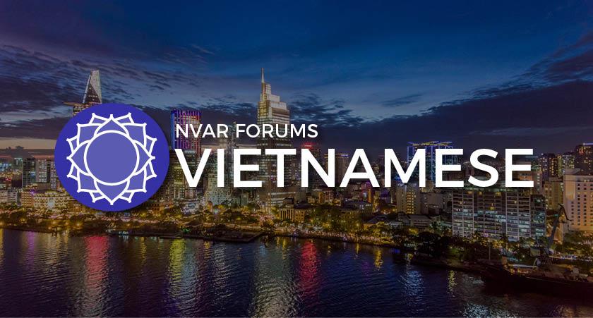 NVAR vietnamese forum image