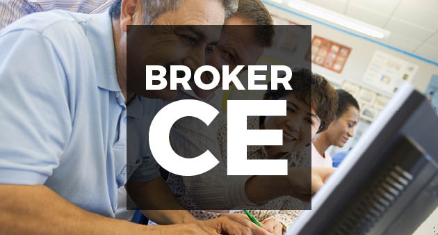 broker ce class image with participants