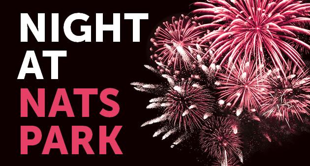 night at nats park fireworks