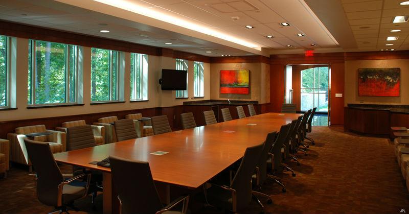 boardroom at NVAR headquater