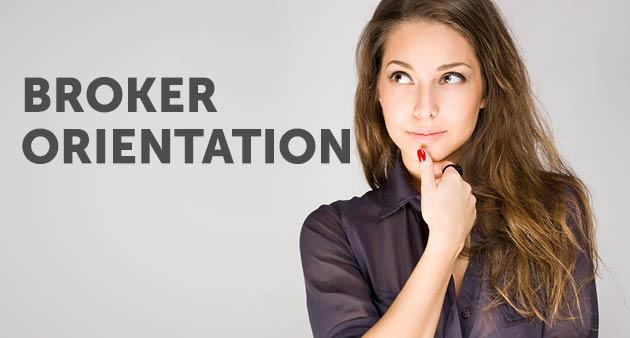 broker orientation