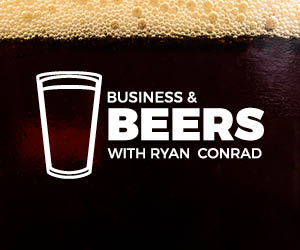business & beers with Ryan logo