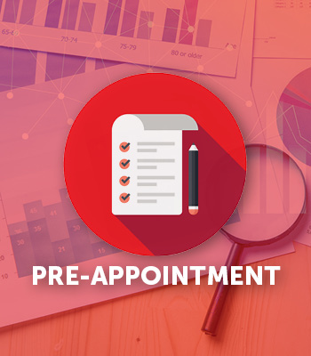 pre appointment graphic