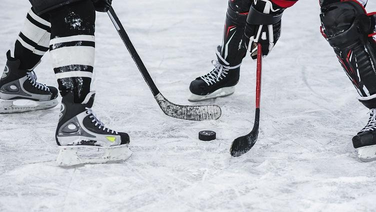 Hockey close up