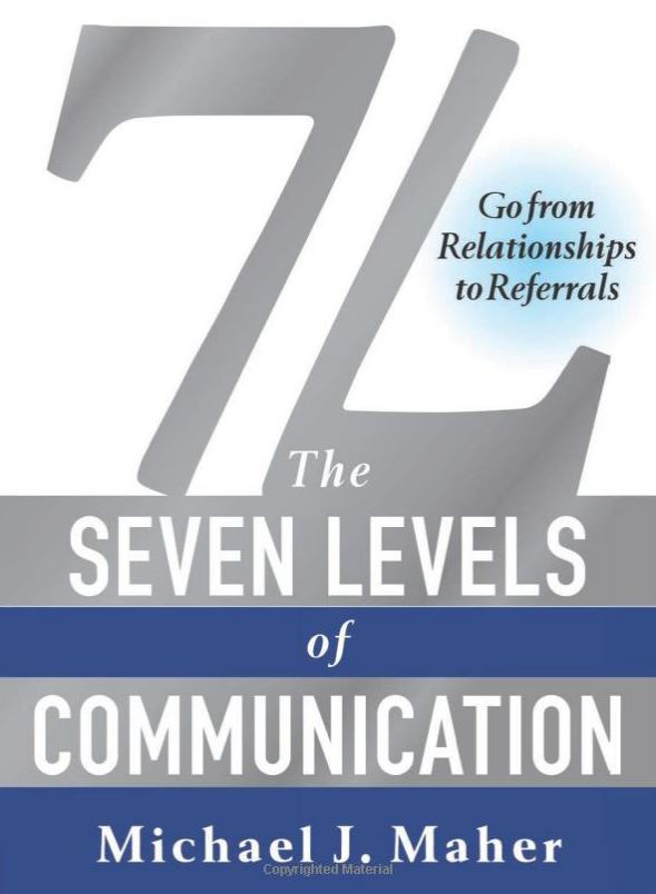 The 7 levels of communication book cover