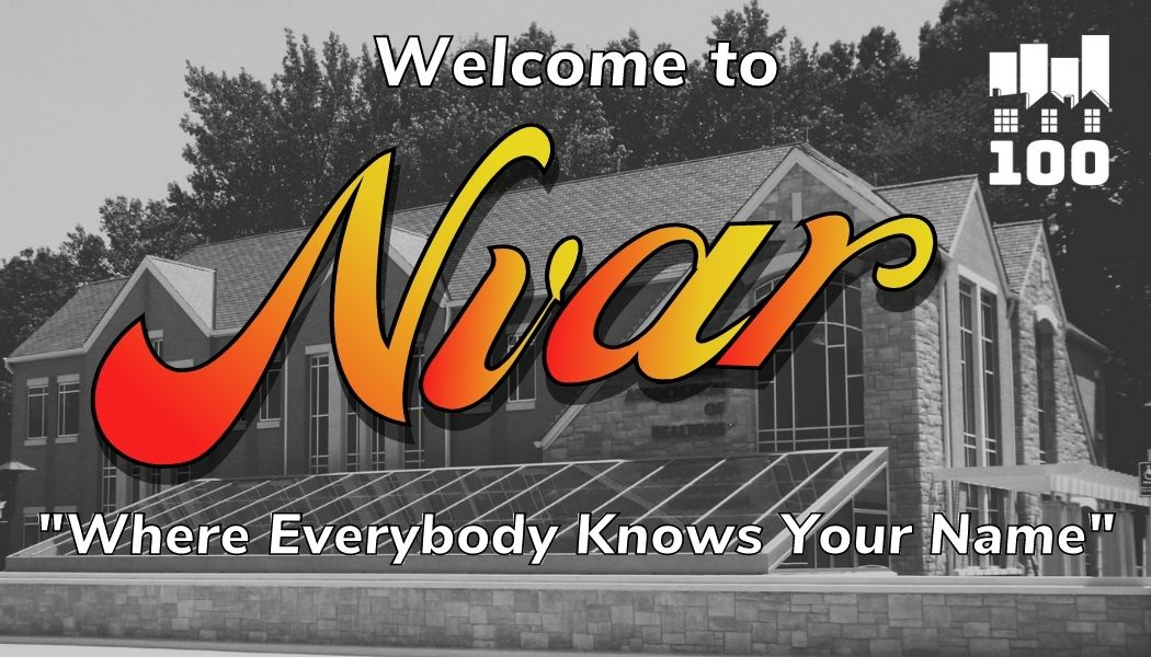 """Welcome To NVAR """"Where everyone knows your name"""""""