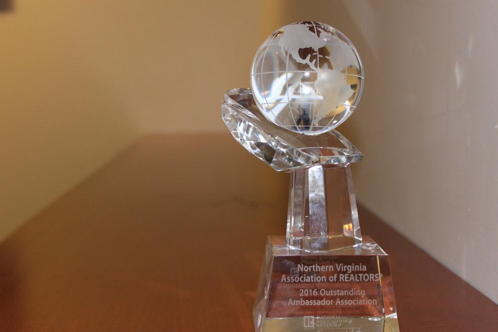 outstanding ambassador award