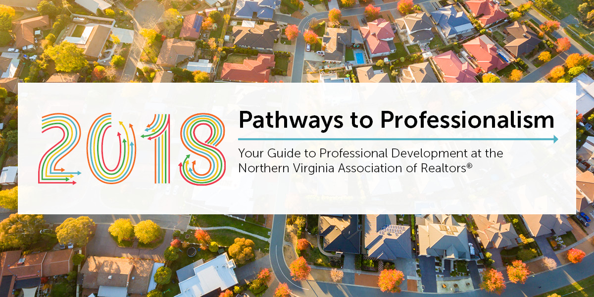 pathways to professionalism. your guide to NVAR professional development