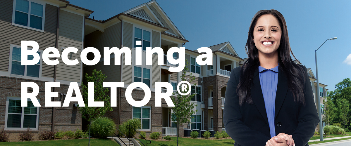 becoming a realtor banner