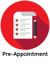 pre appointment icon