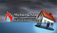 Michael & Son Restoration logo