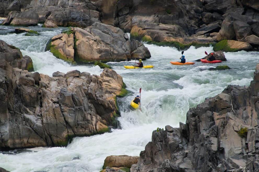 Great Falls kayaking