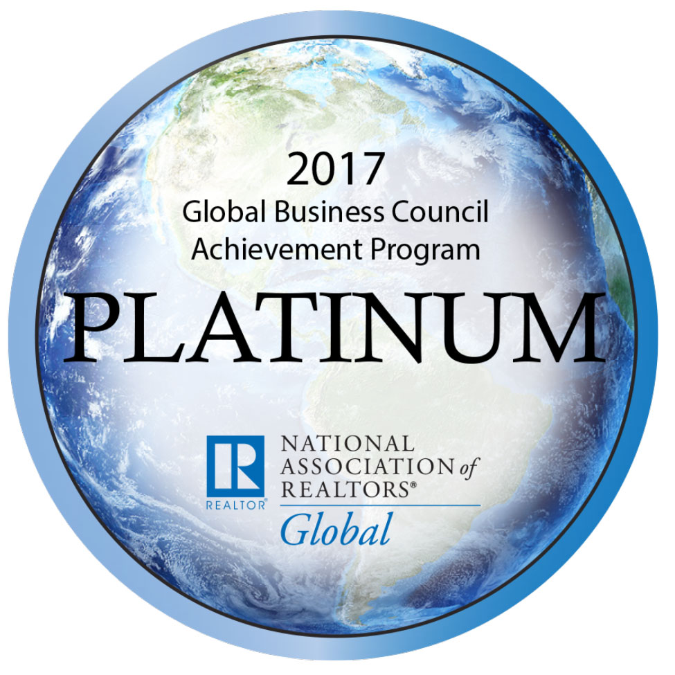2017 nar global platinum council badge