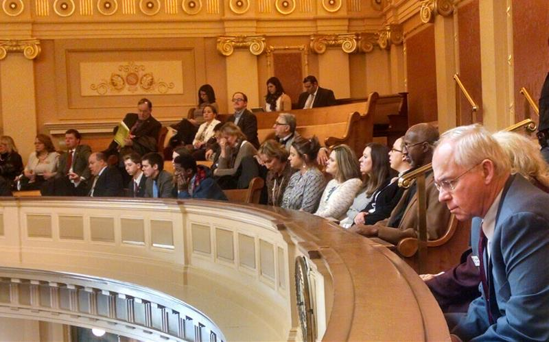 2015-03-04-legislative-trip-realtors-meet-with-image-house-chamber
