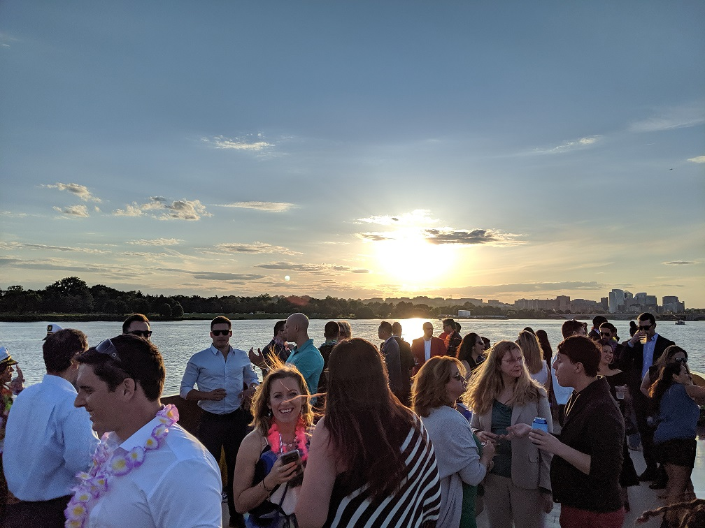 Midyear 2019 cruise sunset