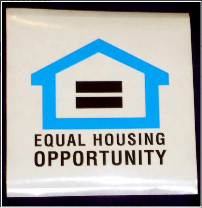 Equal Housing Opportunity Sticker Large