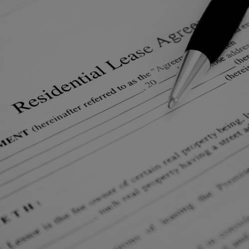 Residential lease Agreement form
